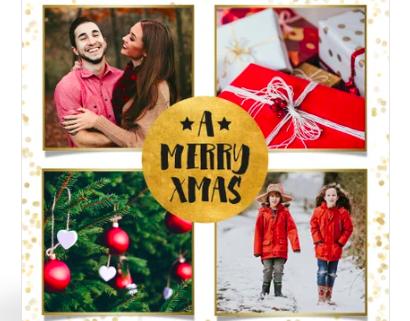 Weihnachtsfeier im Familienkreis