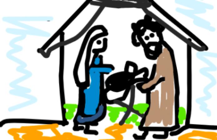 Wie Weihnachtsgeschichte den Kindern erklären?