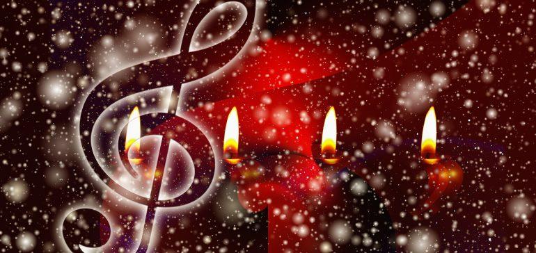 Weihnachtslieder als Karaoke