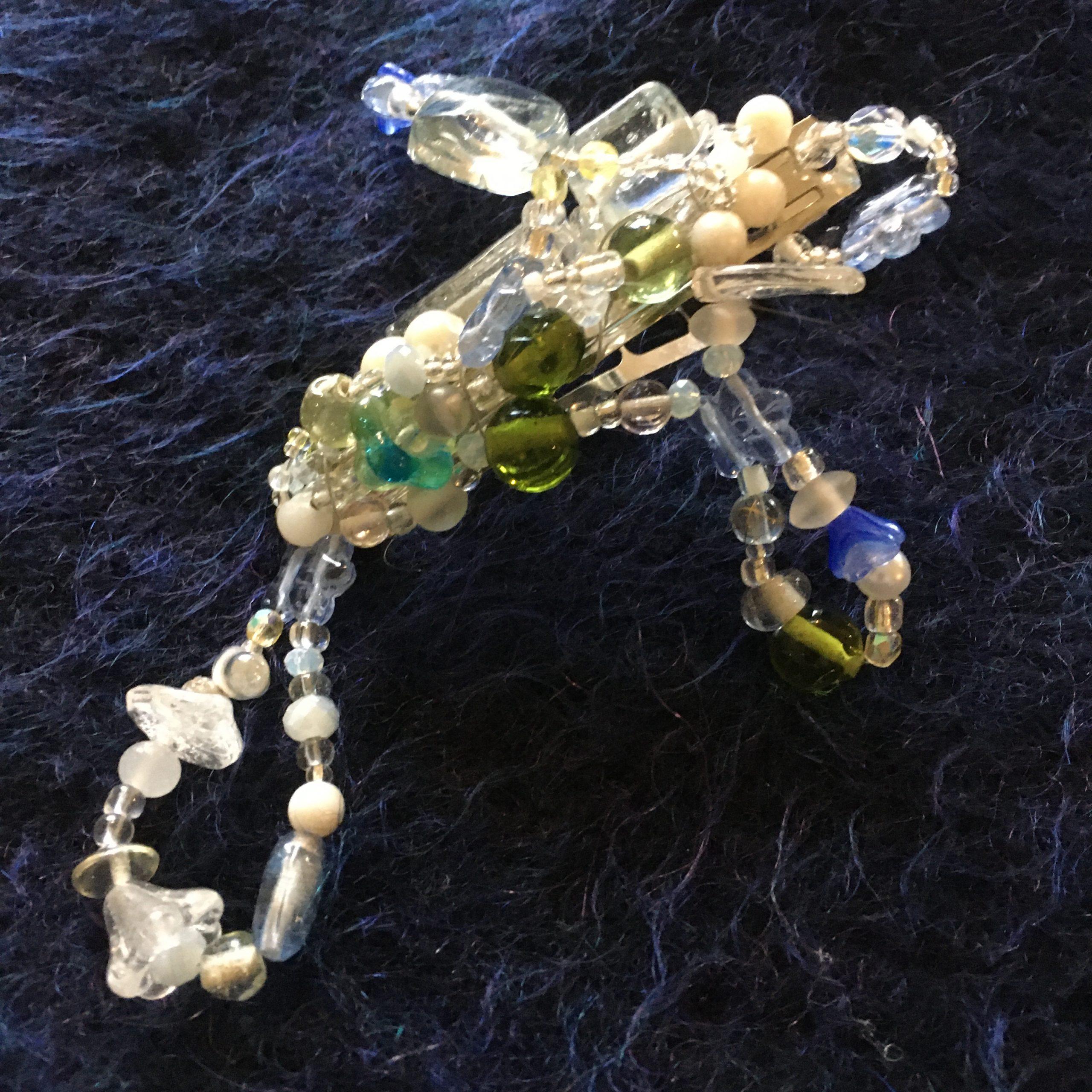 Schmuck aus Glasperlen
